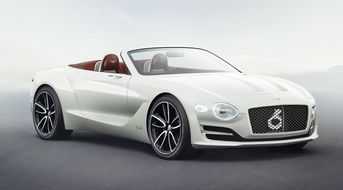 Bentley unveils its first all-electric grand tourer