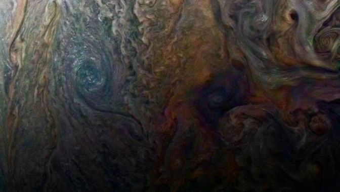 New Up-Close Image of Jupiter