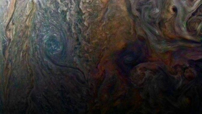 New Up-Close Image of Jupiter