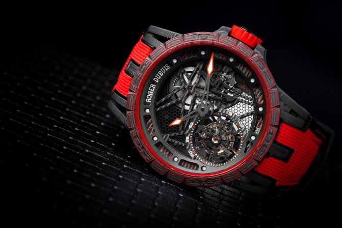 A World First With The Excalibur Spider Carbon From Roger Dubuis