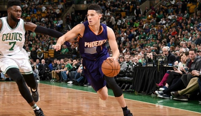Devin Booker Scores Team-Record 70 Points Against Celtics