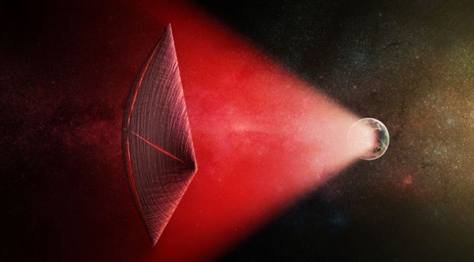 Wild New Theory Suggests Radio Bursts Beyond Our Galaxy Are Powering Alien Starships