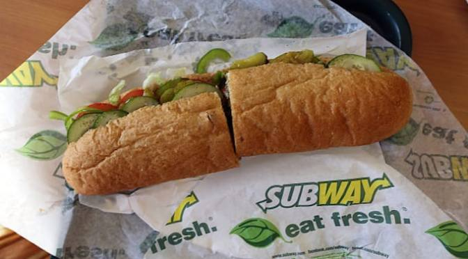DNA Tests Discover Subway's Chicken Meat Is Only About 50 Percent Chicken