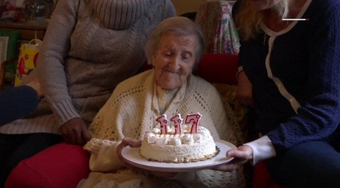 Emma Morano, world's oldest person, dies at age 117