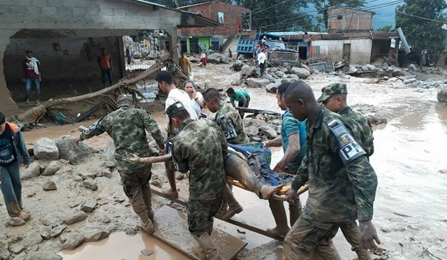 At Least 154 Killed In Colombia Landslide