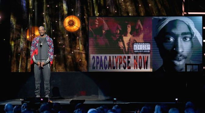 2Pac Is Inducted Into the Rock and Roll Hall of Fame