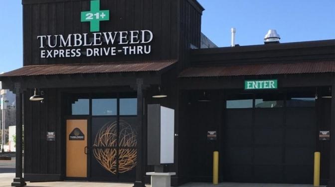 Nation's First Cannabis Drive-Through Opens In Colorado as Cannabis Sales Boom