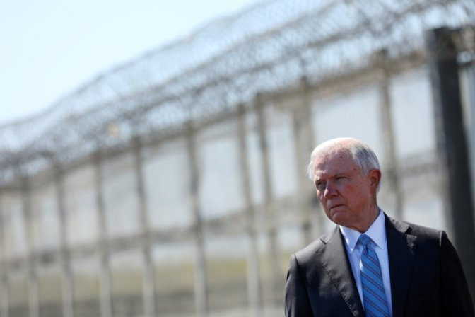 Jeff Sessions Rolls Back Obama-Era Drug Sentencing Reforms
