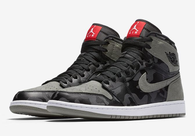 GO UNDERCOVER WITH THE AIR JORDAN 1 'CAMO PACK'