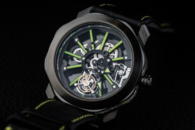 Looking Through Bulgari's Octo Tourbillon Sapphire