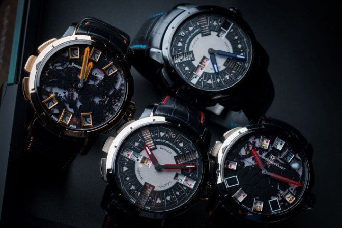 Christophe Claret Gaming Watches
