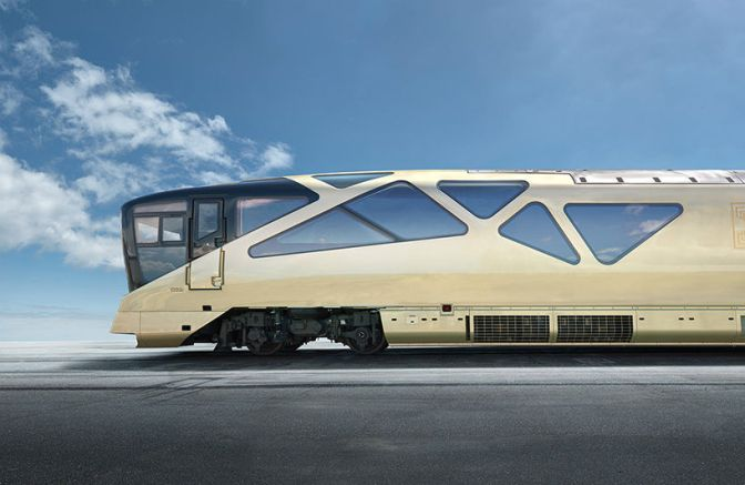 INSIDE JAPAN'S AMAZING NEW FERRARI-DESIGNED SUPER TRAIN