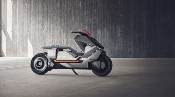 BMW'S ULTRA HIGH-TECH ELECTRIC CONCEPT IS THE MOTORCYCLE OF THE FUTURE
