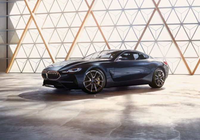 BMW IS RETURNING TO THE LUXURY SUPER COUPE GAME WITH THIS STUNNING 8 SERIES CONCEPT