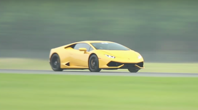 WATCH THIS INSANE TWIN-TURBO LAMBORGHINI HURACAN SET HALF-MILE WORLD RECORD OF 250 MPH