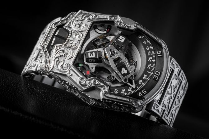 Urwerk UR-210 Amadeus: When Past and Future Collide