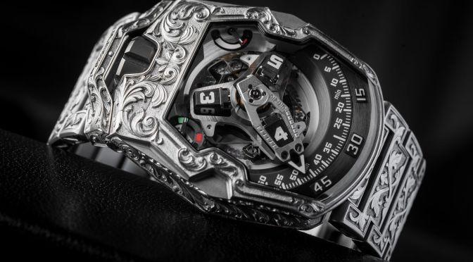 Urwerk UR-210 Amadeus: When Past and Future Collide