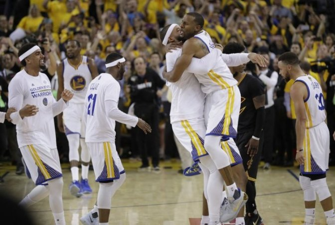 Golden State Warriors Beat The Cleveland Cavaliers To Win NBA Championship