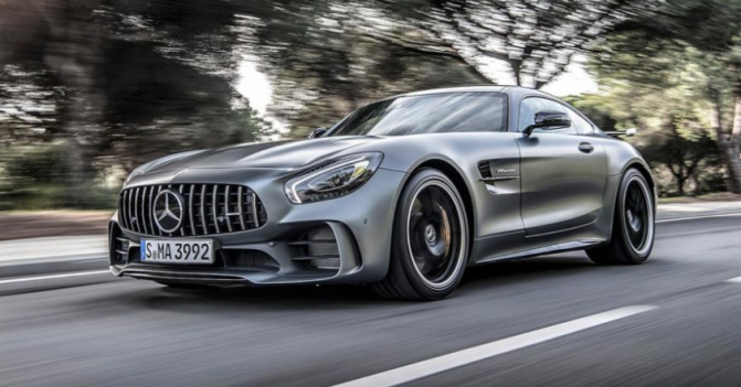 THE 577-HP MERCEDES AMG GT R IS ULTIMATE UNION OF POWER AND LUXURY