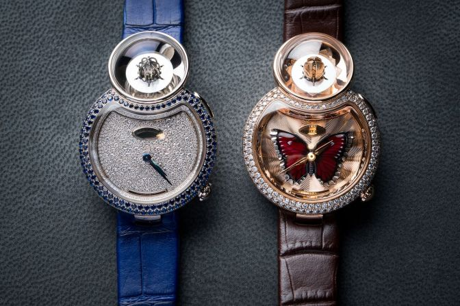 Jaquet Droz Lady 8 Flower: Art, Automaton or Watch?