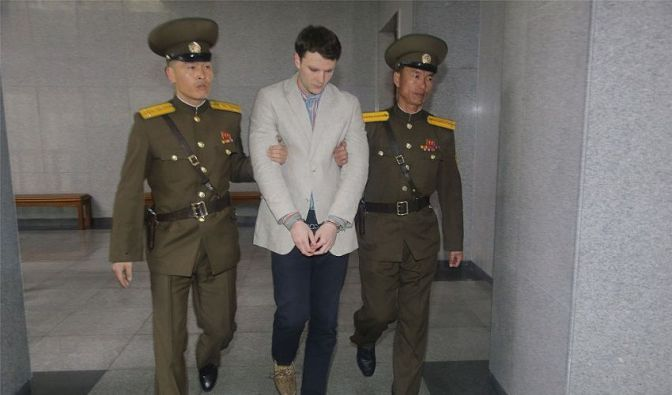 AMERICAN COLLEGE STUDENT OTTO WARMBIER DIES AFTER RETURNING HOME FROM NORTH KOREAN PRISON