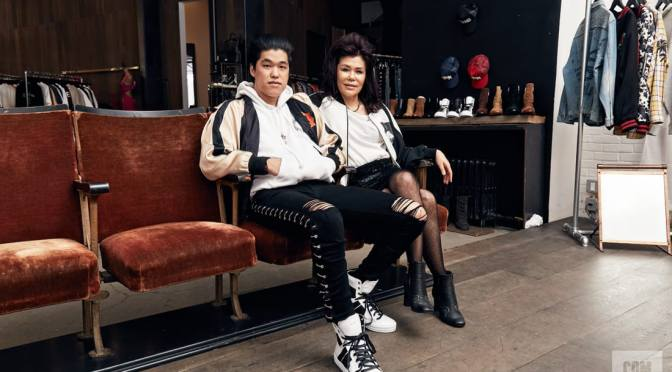 Meet the Mother-Son Duo Behind Patron of the New, A Go-To Store for Travis Scott, Offset, And More