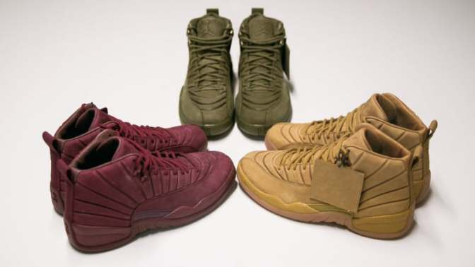 Public School Is Dropping Three Air Jordan 12s at Once
