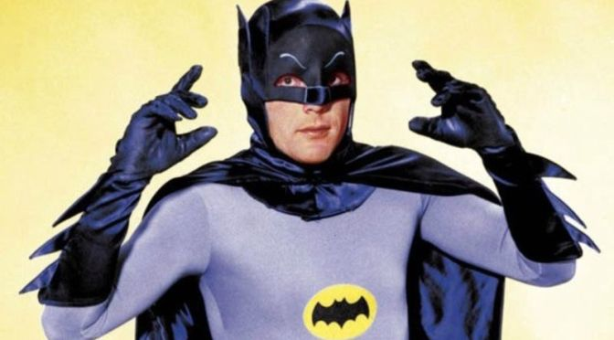 RIP Adam West, TV's Batman