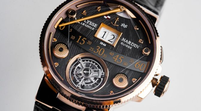 Ulysse Nardin Marine Grand Deck: Unnecessary Grandeur