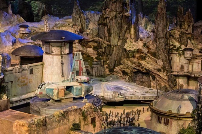 Disney's 'Star Wars' theme park is taking shape