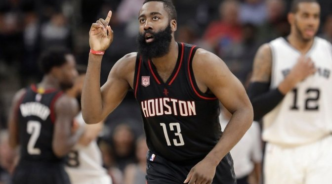 Houston Rockets sign James Harden to NBA-record $228m contract extension