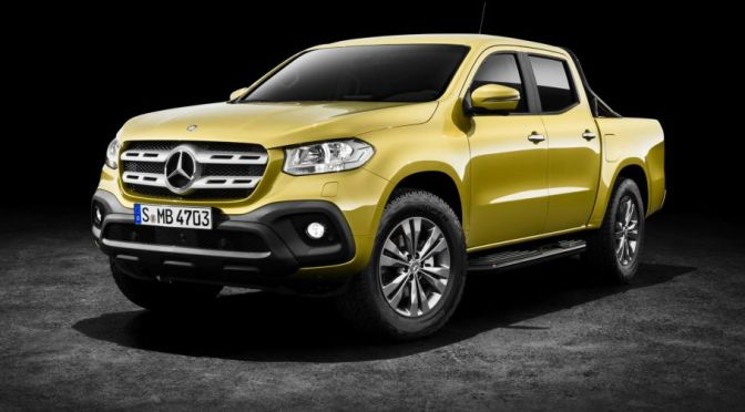 THE MERCEDES-BENZ X-CLASS PICKUP
