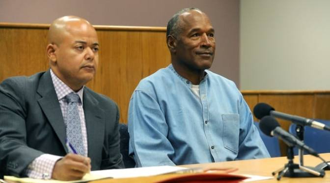 O.J. Simpson Has Been Granted Parole and Will Be Released From Prison