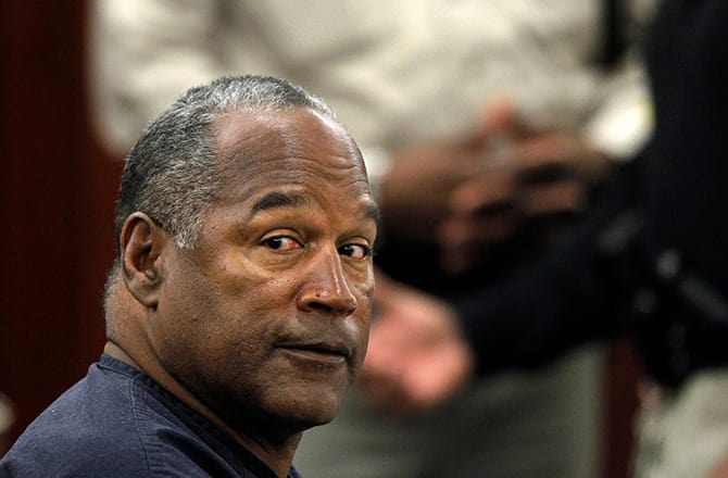O.J. Simpson's Parole Hearing Will Reportedly Be Televised on Multiple Networks