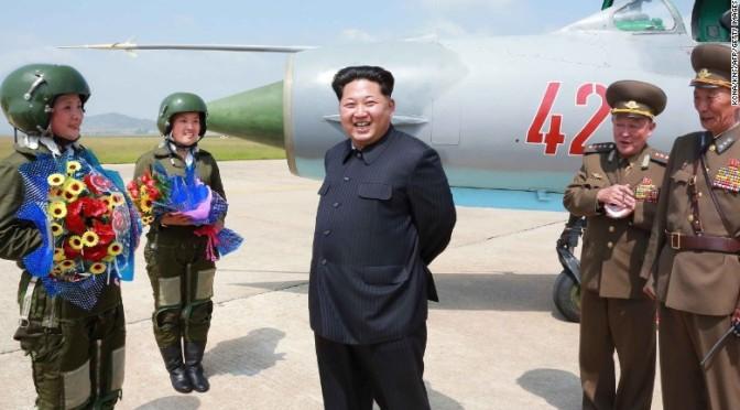 North Korea threatens US base