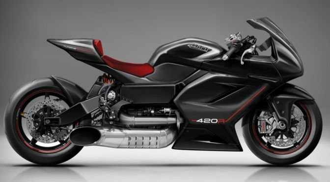 This Totally Bonkers 420-HP Superbike Has a Friggin' Turbine-Powered Engine