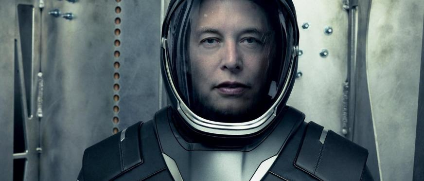 Elon Musk Unveils SpaceX's Sleek New Space Suit | The Fat ...