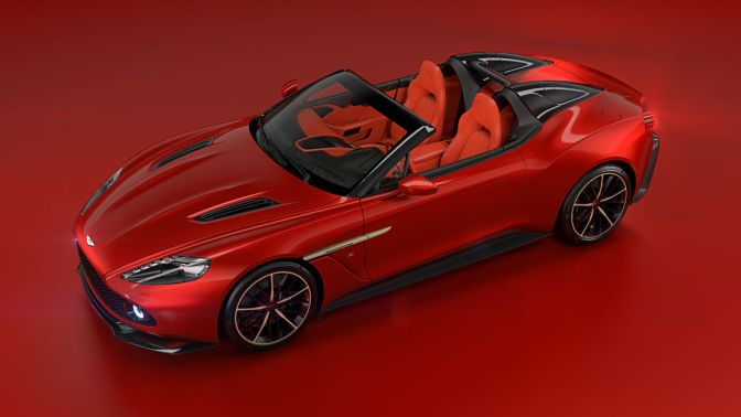 Aston Martin Just Added Another Supercar to Their Arsenal With This Sexy Speedster