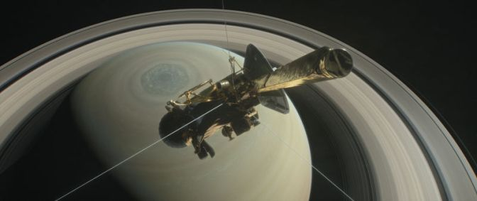 Cassini's Final Dives Will Take Us Where No Spacecraft Has Gone Before