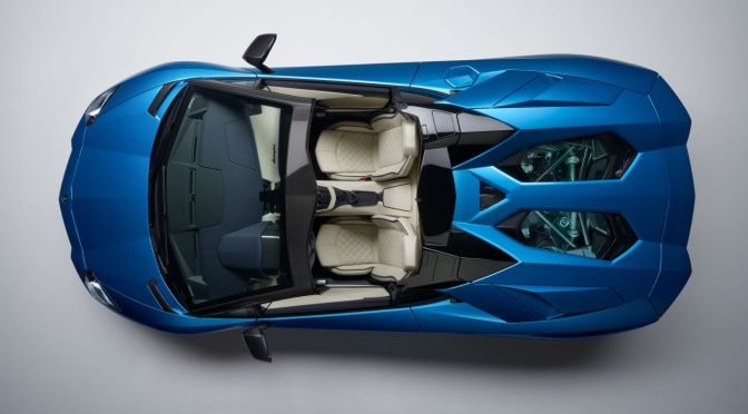The Lamborghini Aventador S Just Dropped Its Top