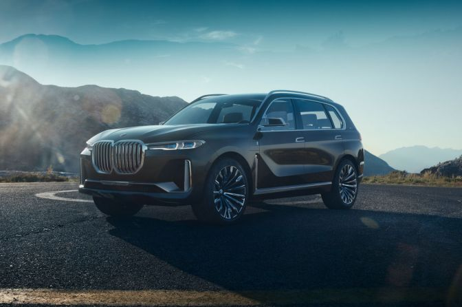 BMW Just Unveiled Their Ultra-Luxe X7 SUV Concept
