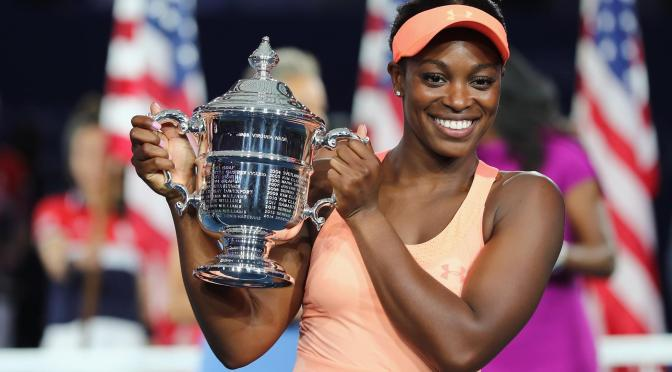 Sloane Stephens cruised past No.15 seed Madison Keys in an all-American final to win the first Grand Slam title of her career