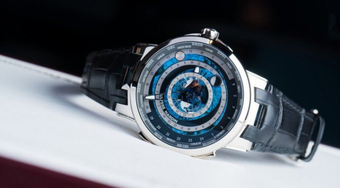 Starstruck By The Ulysse Nardin Executive Moonstruck Worldtimer