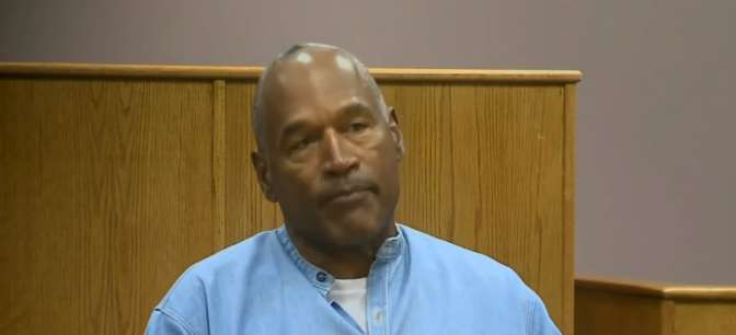 O.J. Simpson Out Of Prison After Serving 9 Years For Armed Robbery