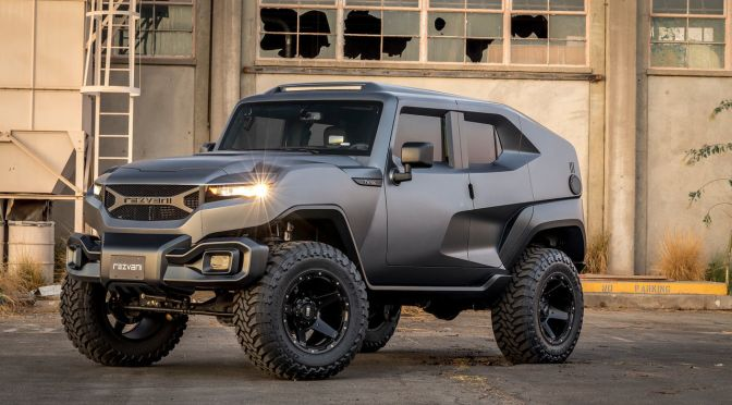 The Rezvani Tank Is a 500-HP Military-Inspired 'Xtreme Utility Vehicle'