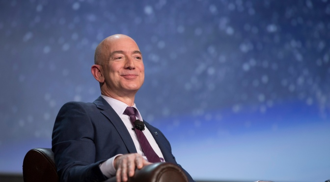 Jeff Bezos's Net Worth Just Broke $100 Billion