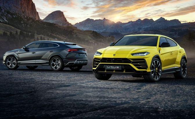 The 2019 Lamborghini Urus