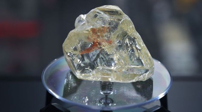 709-Carat 'Peace Diamond' Sells for $6.5 Million