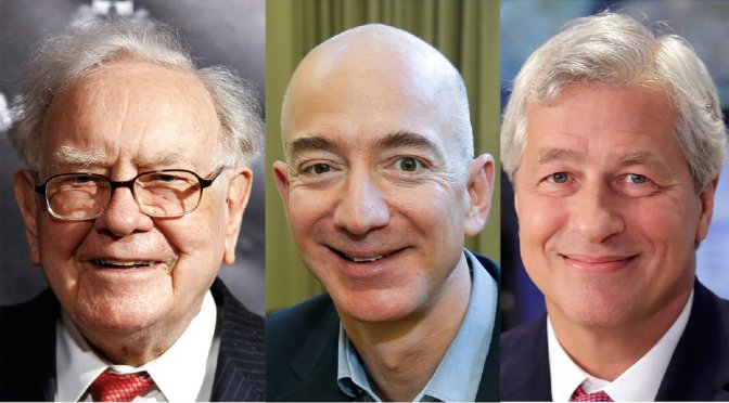 Amazon's Jeff Bezos, Warren Buffett, JPMorgan starting healthcare company
