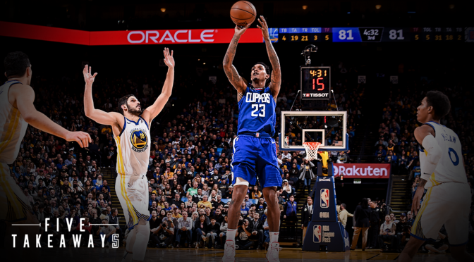 Lou Williams Upstages Kevin Durant's Historic Night by Dropping 50 Points on the Warriors